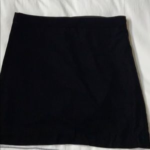 NWT J.Crew Velvet Mini Skirt